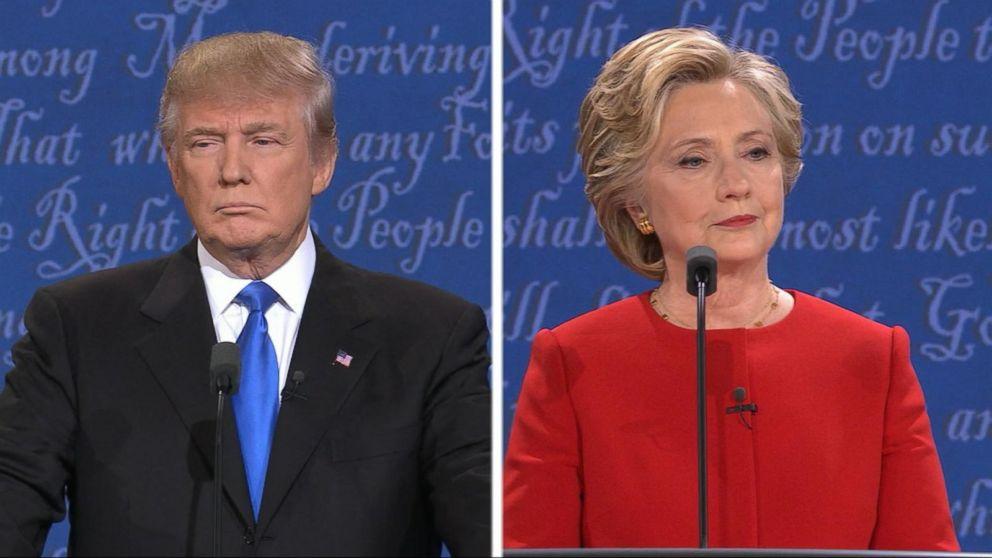 Clinton, Trump Spar Over Taxes, ISIS in 1st Presidential Debate