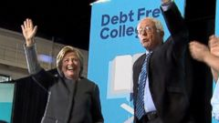 Bernie Sanders, Hillary Clinton Team Up in NH