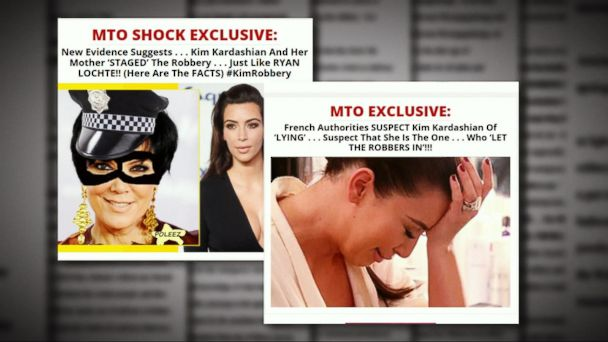 Kim Kardashian Sues Gossip Site Over Reports of Faked Paris Robbery Claims