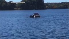 VIDEO: Good Samaritans Rescue Elderly Woman Who Drove into Pond