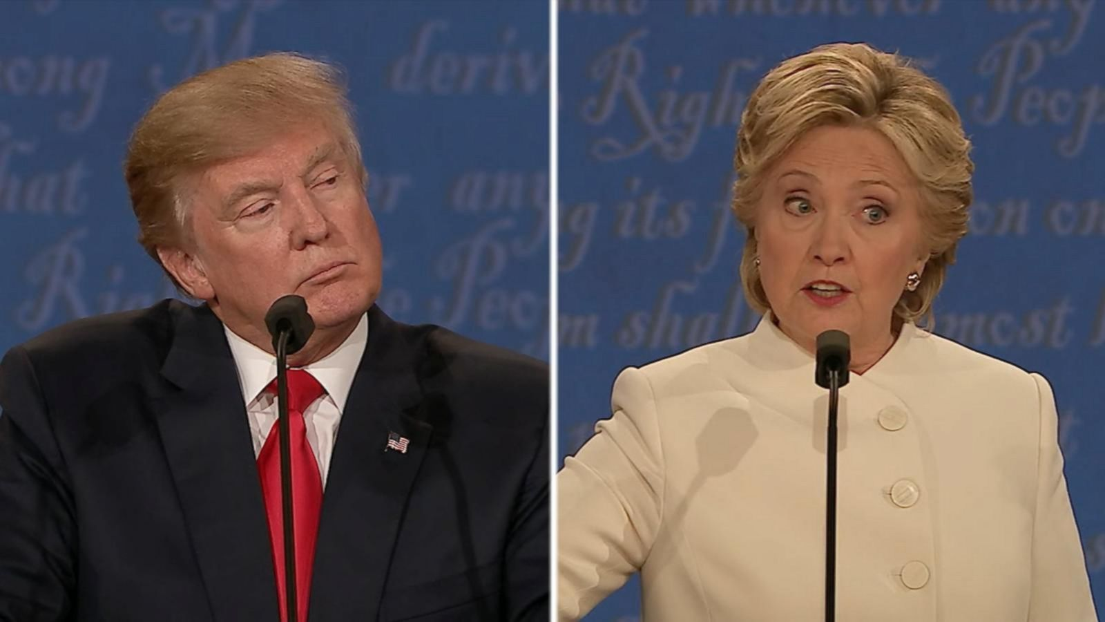 Hillary Clinton, Donald Trump Clash in Final Presidential Debate