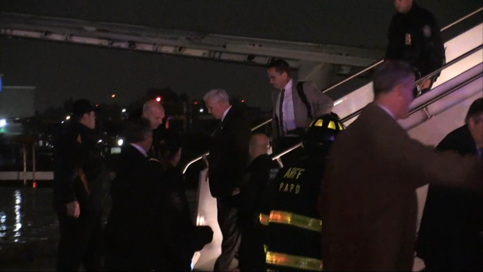 Mike Pence's Plane Skids off NYC Airport Runway