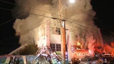 VIDEO: Nightline 12/05/16: Survivors Recount Chaos Inside Oakland Warehouse Fire