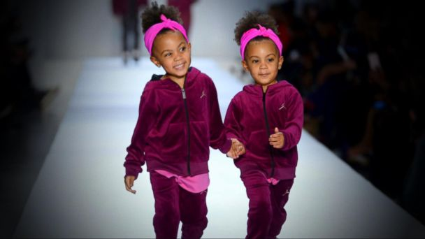 Internet celebrity twins make New York Fashion Week debut