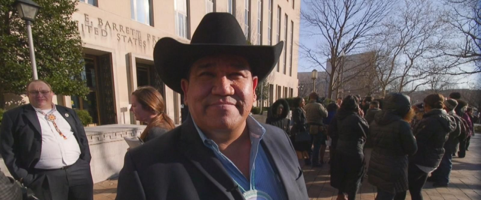 VIDEO: Cheyenne River Sioux Tribe Chairman's DAPL Fight in Washington