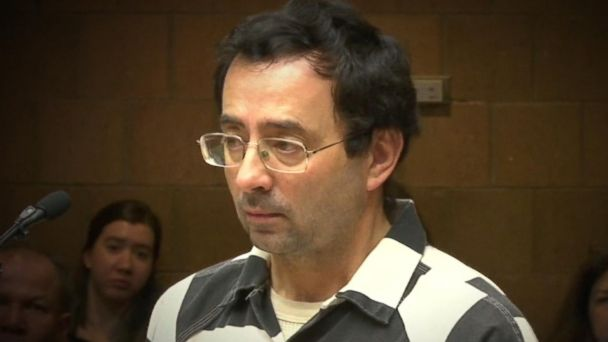 VIDEO: Female gymnasts accuse Michigan doctor of molesting them during treatment