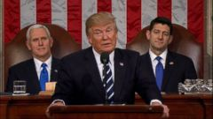 VIDEO: Trump talks of renewal of the American spirit in speech to Congress