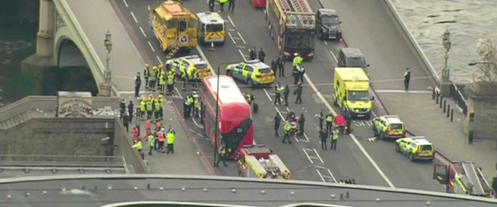VIDEO: Terror investigation underway in London