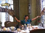 WATCH:  Eating breakfast with giraffes in Kenya