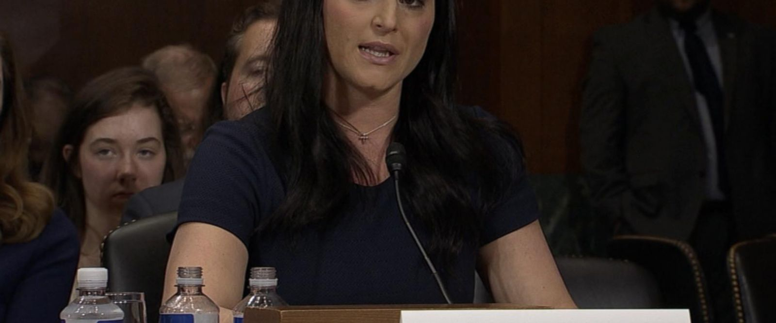 VIDEO: Former Olympic gymnasts testify before Congress about sex-abuse scandal