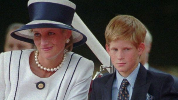 VIDEO:  Prince Harry describes being at Princess Diana's funeral