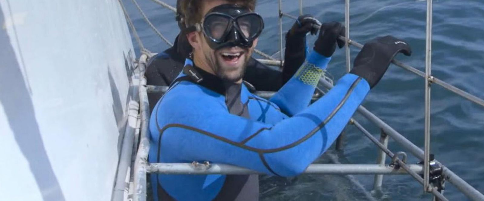 VIDEO: Michael Phelps on preparing for his race against great white shark