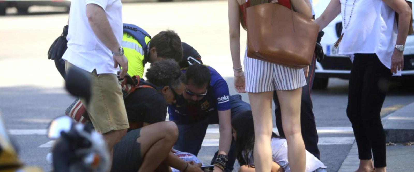 VIDEO: Barcelona terror attack eyewitnesses describe chaotic scene