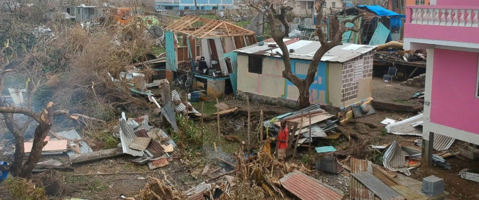 VIDEO: Dominica, struggling to survive 1 month after Hurricane Maria