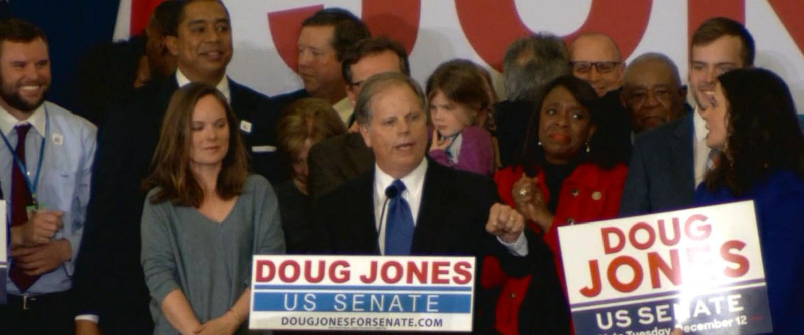 VIDEO: Doug Jones wins Alabama Senate race