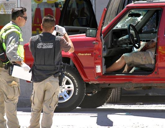 Photo: Mexican border violence