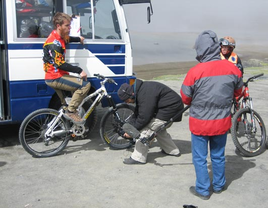 Bolivia Adventure Bikers