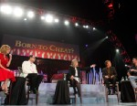 Four panelists debate adultery and what constitutes cheating in fourth installment of the Nightline Face-Off series at the Fellowship Church in Grapevine, Texas.