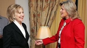 ABC News' Cynthia McFadden talked to Secretary of State Hillary Clinton in an exclusive interview during Clinton's trip to Moscow.