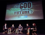 """Nightline"" face-off,  ?Does God Have a Future,?"