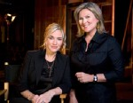 "PHOTO: Cynthia McFadden interviews Academy Award nominee Kate Winslet for ""Nightline."""