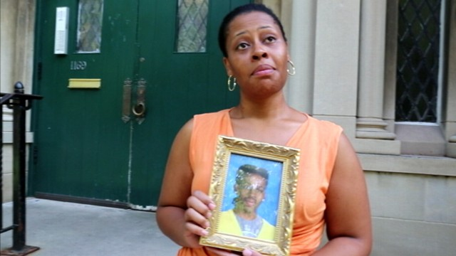VIDEO:  Chicago natives talk about their sons being caught in the crossfire in their neighborhood.