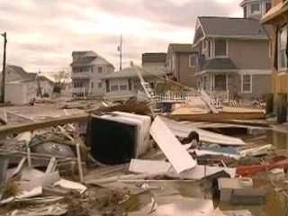 Watch: Sandy Aftermath: NYC Hospital Evacuated, Rockaways in Rubble