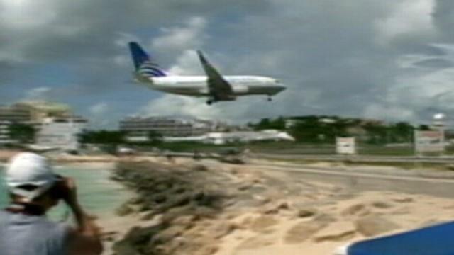 St. Maartens Jet Blast Beach