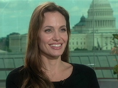 "VIDEO: Angelina Jolie on ""Nightline"""