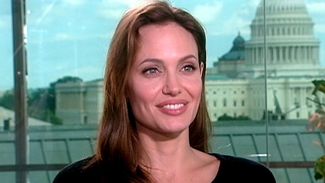 The Angelina Jolie Exclusive