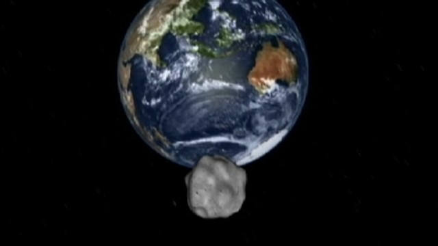Paintball gun `may deflect 27-gigaton asteroid away from earth`