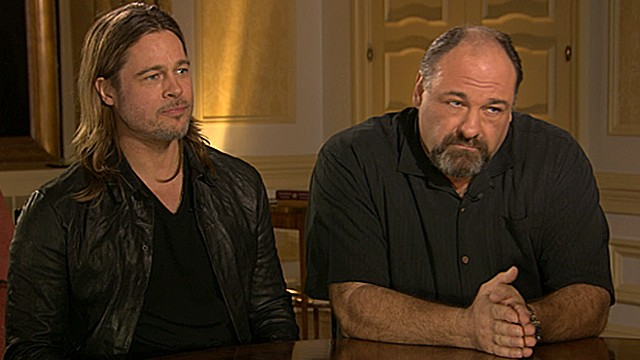 James Gandolifini Talk 'Dark Moments' in 'Killing Them Softly'