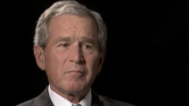 George Bush on 9/11 Fallout, Bin Laden