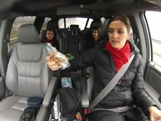 Watch: Kids Are Terrible Driving Distraction, Study Finds
