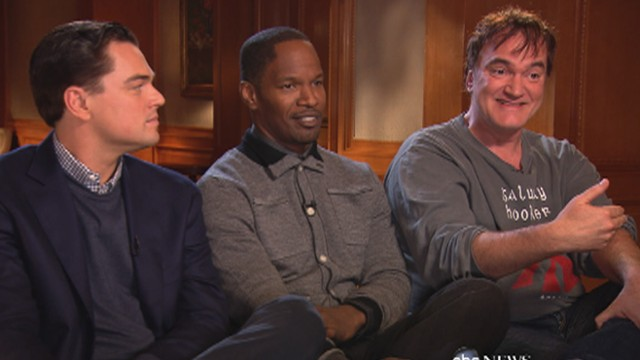 Django Unchained: Terrantino, DiCaprio Talk Movies Controversy