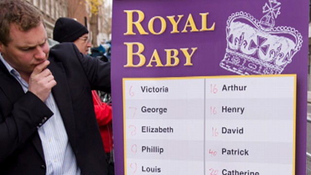 Feed Frenzy: Betting on Royal Baby