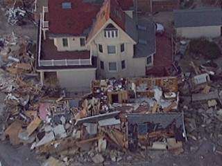 Watch: Superstorm Sandy: Breezy Point Residents Visit Destroyed Homes