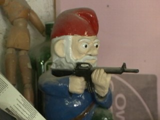 Watch: GI Gnome: Combat Twist on Popular Lawn Ornament