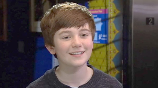 VIDEO: Hailed as the next Justin Beiber, this YouTube sensation says hes a normal kid.