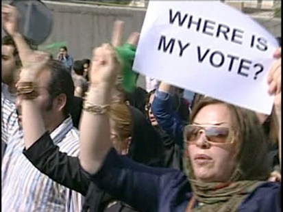 Unrest Plagues Iran After Election