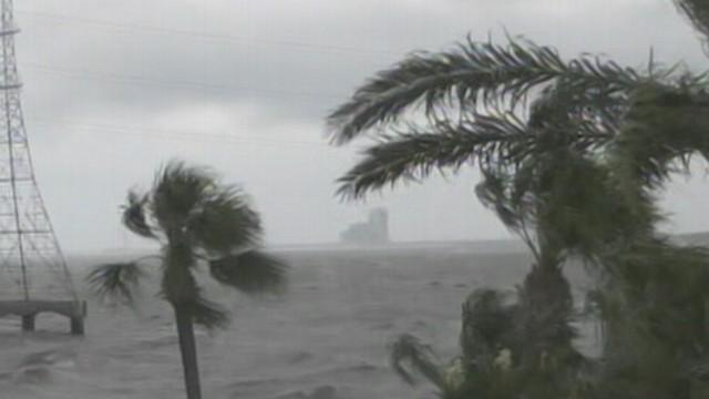 Hurricane Isaac Makes Landfall
