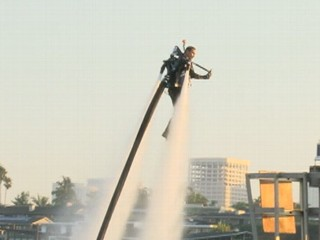 Watch: Rocket Man: World Record for JetLev Flight