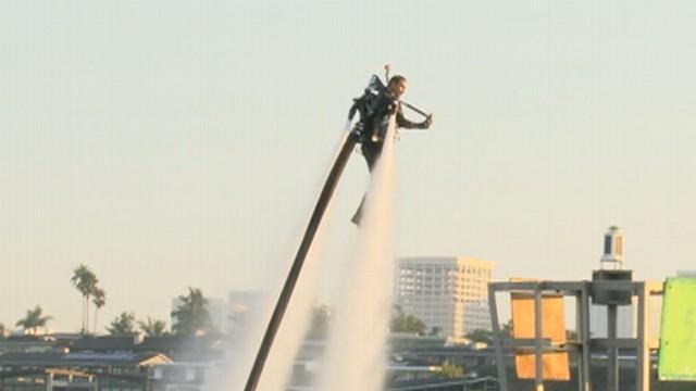 Rocket Man: World Record for JetLev Flight
