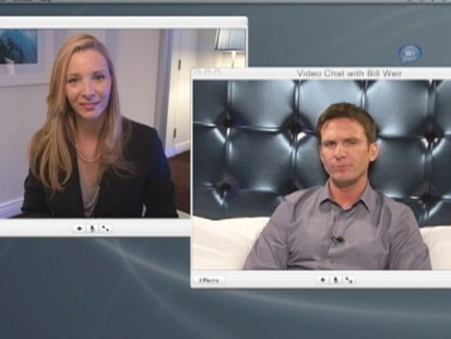 VIDEO: Lisa Kudrow and Bill Weir Web Therapy Session