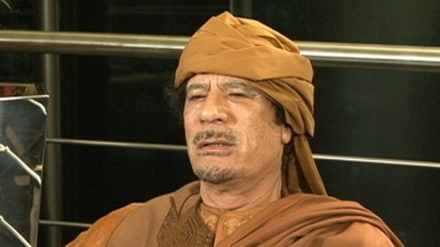 Gadhafi in Hiding, Sons in Custody
