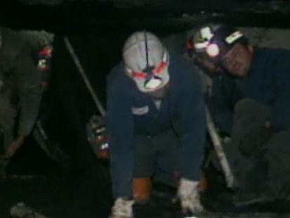 Tense Moments at a Mine