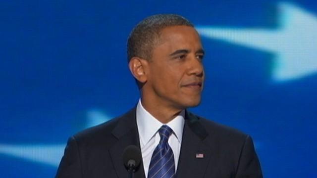 President Obama's DNC Finale