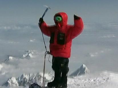 Kid Mountain Climber