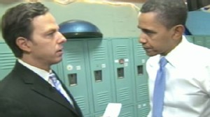 President Obama with Jake Tapper