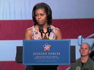 Watch: Michelle Obama on Helping Military Families